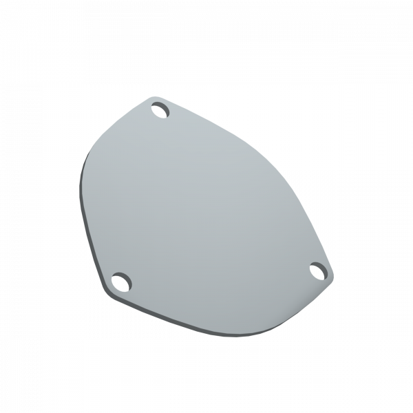 Quick Time Performance - 4.00 Inch 3 Bolt Cover Plate QTP