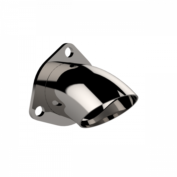 Quick Time Performance - 2.50 Inch Adjustable Stainless Steel Turn Down QTP