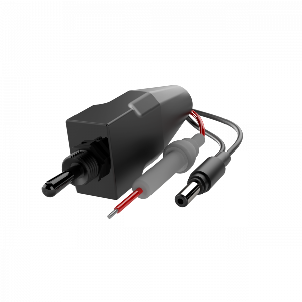 Quick Time Performance - Single Toggle Switch for QTP Electric Exhaust Cutouts