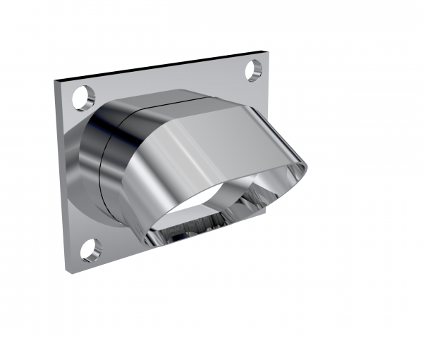 Quick Time Performance - Low Profile Oval Stainless Steel Turn Down QTP