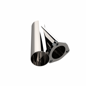 Quick Time Performance - 3.00 Inch Stainless Steel QTP Exhaust Cutout - Image 2