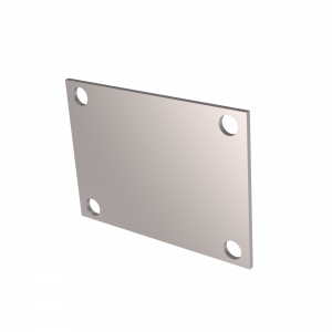 Quick Time Performance - Low Profile Oval 4 Bolt Cover Plate QTP - Image 3