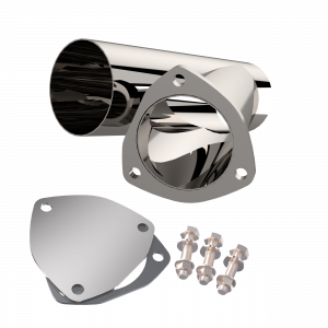 Quick Time Performance - 3.50 Inch Stainless Steel QTP Exhaust Cutout - Image 1