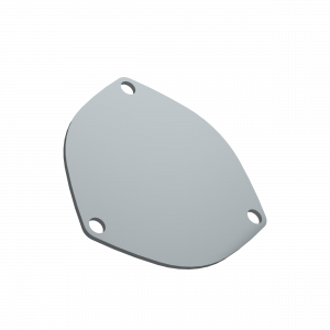 Quick Time Performance - 4.00 Inch 3 Bolt Cover Plate QTP - Image 1