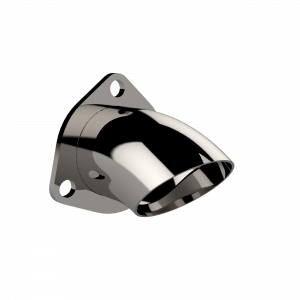 Quick Time Performance - 2.50 Inch Adjustable Stainless Steel Turn Down QTP - Image 1