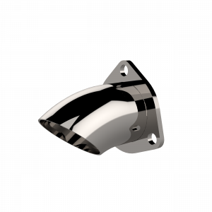 Quick Time Performance - 2.50 Inch Adjustable Stainless Steel Turn Down QTP - Image 3