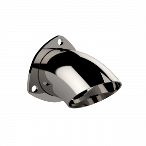 Quick Time Performance - 3.00 Inch Adjustable Stainless Steel Turn Down QTP - Image 1