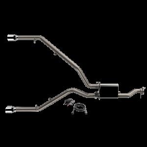 Quick Time Performance - 2019-2021 Ram 1500 QTP Screamer Split Rear Exit Cat Back - Image 2