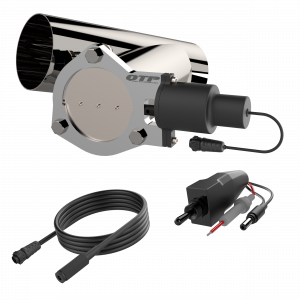 Quick Time Performance - 4.00 Inch QTP Electric Exhaust Cutout Combo Kit - Image 3