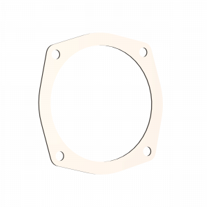 Quick Time Performance - 5.00 Inch 4 Bolt Exhaust Gasket QTP - Image 1