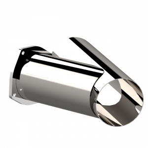 Quick Time Performance - 5.00 Inch Stainless Steel QTP Exhaust Cutout - Image 3