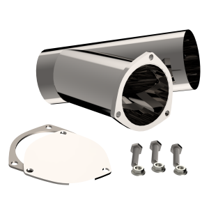 Quick Time Performance - 4.00 Inch Stainless Steel QTP Exhaust Cutout - Image 1
