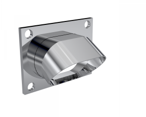 Quick Time Performance - Low Profile Oval Stainless Steel Turn Down QTP - Image 1